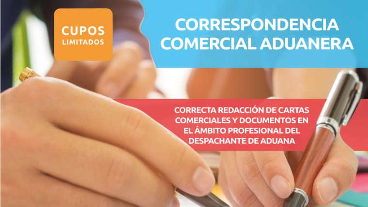 CORRESPONDENCIA COMERCIAL ADUANERA